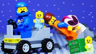 LEGO MOVIE 2 Baby Space Robbery Fail Animation for Kids