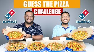 GUESS THE PIZZA CHALLENGE | Pizza Eating Challenge | Food Eating Competition | Food Challenge