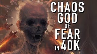 A New Chaos God that Feeds on Fear in Warhammer 40K