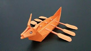 Origami: Dragon boat |  Easy tutorials and how to's for everyone