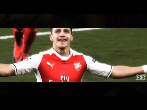 Alexis Sanchez 2017 [Skill,Goal,assist] Unknown Brain - Superhero (feat. Chris Linton) [NCS Release]