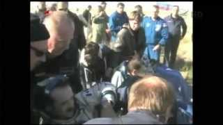Chris Hadfield Returns to Earth