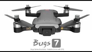 MJX Bugs 7 видео с камеры в 2.7к