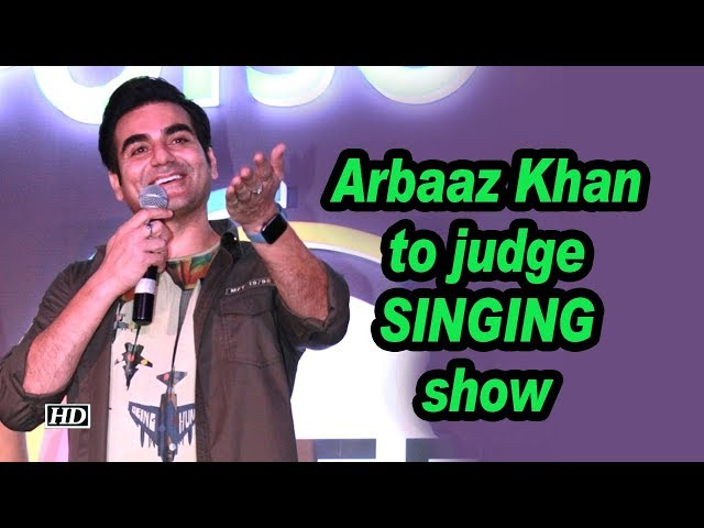 Arbaaz to judge singing show, launches entertainment app