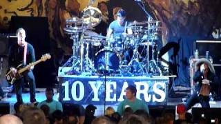 """10 years """"Dead in the Water""""  Carnival of Madness, Merriweather, Columbia MD 7/28/10 live concert"""
