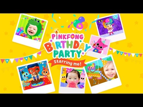 Vídeo do PINKFONG Birthday Party