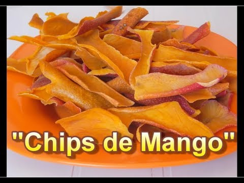CHIPS DE MANGO - A GOOD SNACK - Lorena Lara