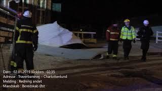 02.01.2019 – Taget røg af pga blæst – Charlottenlund
