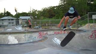 preview picture of video 'Practice Makes Perfect!  Daniel Jessop Pahoa Skatepark'