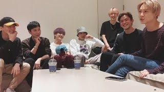 190911 TAEMIN instagram LIVE with SuperM