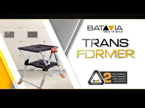 Transformer (German) - Multifunktionale Werkbank & Trittleiter - BATAVIA