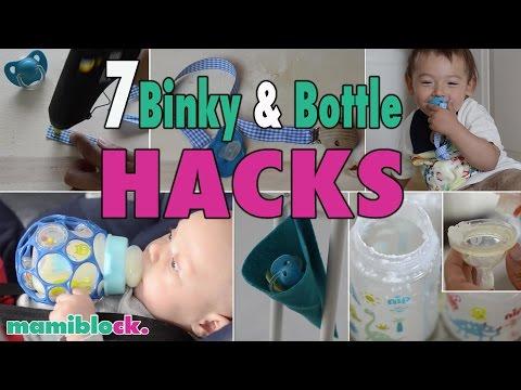 7 Mom Hacks - Schnuller und Fläschchen | mamiblock - Der Mami Blog