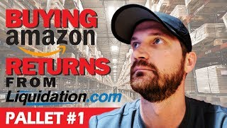 Buying Amazon Returns from Liquidation.com to Sell on Ebay, Pallet #1
