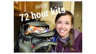 Basic 72 Hour Kit - DIY - Emergency Preparedness