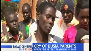 Parents of paralysed Busia children yet to be compensated despite court orders