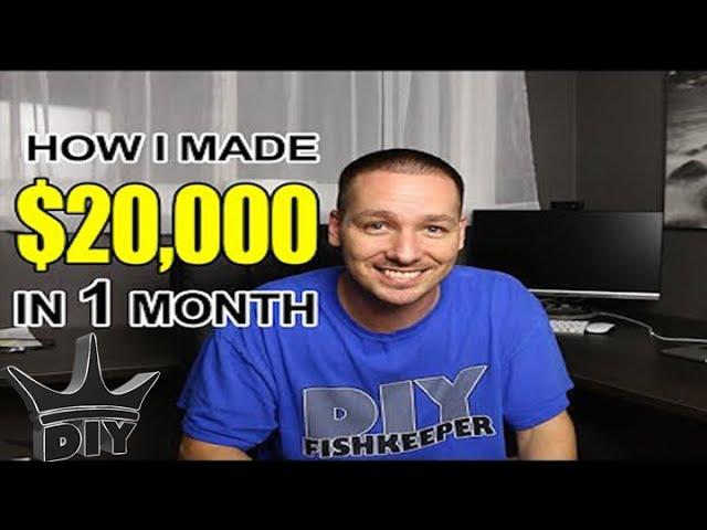 How I made $20,000 in 1 month from breeding aquarium Discus fish