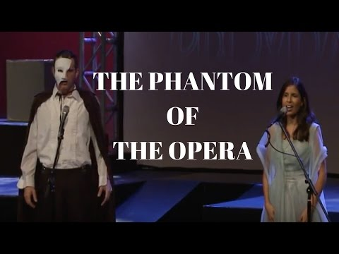 "This is my performance of ""The Phantom of the Opera"" by Andrew Lloyd Webber."