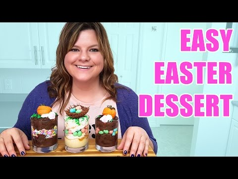 🐣🐰 Easy Easter Dessert Recipe! (Filmed Live)