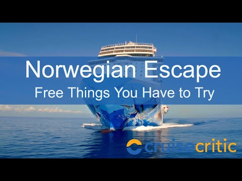 Norwegian Escape Attractions – 7 Free Things You Have to Try – Video Tour