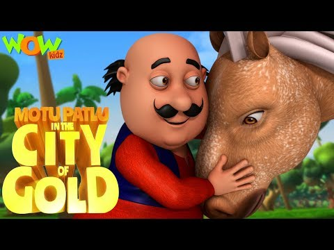 Motu Patlu Hindi Cartoon | City of gold |  Animated Movie |  | Wow Kidz