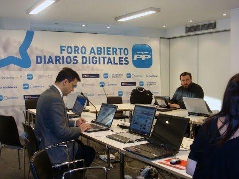 Encuentro de Mariano Rajoy con medios digitales
