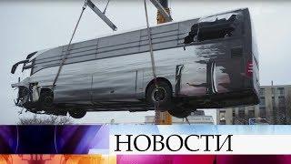 Десять россиян получили травмы при аварии автобуса в Швейцарии.