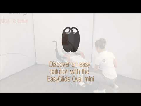 Getting into the back of a chair with EasyGlide Oval mini