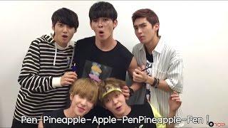U10SECONDS 128sec - UP10TION PPAP(Pen-Pineapple-Apple-Pen)