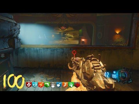 Call of Duty Black Ops Walkthrough - ZOMBIES HALO SWORD