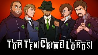 Top Ten Video Game Crime Lords (Patreon Reward)