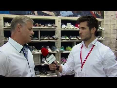 schuhplus - Schuhe in Übergrößen - Interview auf der GDS mit Joachim Schnabel, Mustang Shows Schuhe