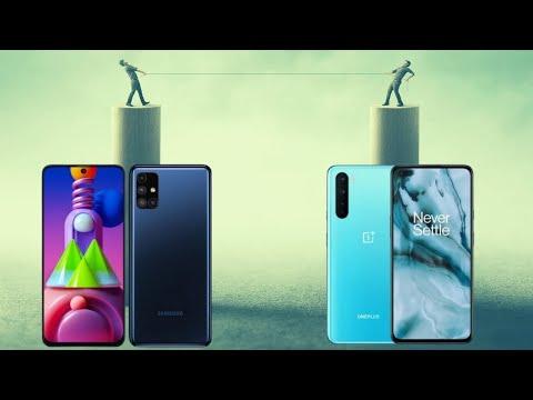 Oneplus Nord vs Samsung Galaxy M 51