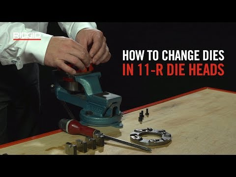 RIDGID How To Change Dies in a 11-R Die Head