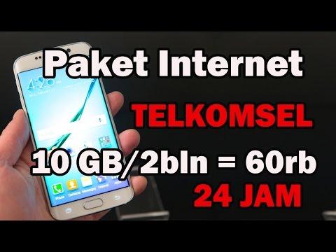 Video Cara Daftar Paket Internet TELKOMSEL Murah 24 Jam !!! (JANGAN DITIRU, Khusus KARTU SAKTI)