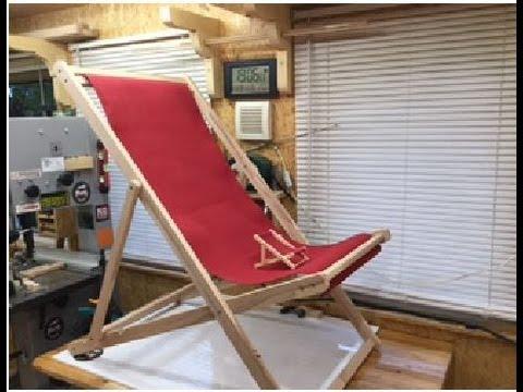 Strandstuhl - Beach chair Diy