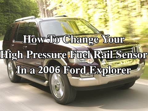 How To change a High Pressure Fuel Rail Sensor In Your 2006 Ford