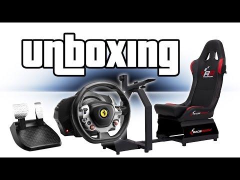 Thrustmaster TX Lenkrad & RR3033 Sitz - Unboxing