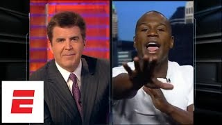 Floyd Mayweather goes toe-to-toe with Brian Kenny on SportsCenter   ESPN Archives