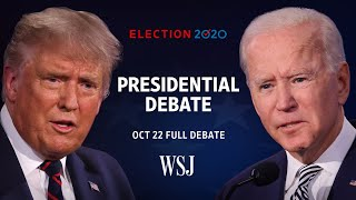 Full Debate: President Trump and Joe Biden Square Off for Final Time Ahead of Election