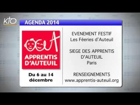 Agenda 1er décembre 2014