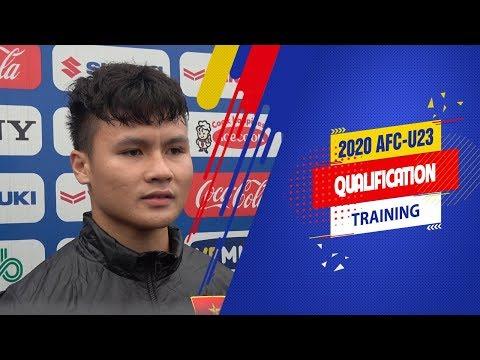 Quang Hải tự tin trong ngày nhận băng thủ quân U23 Việt Nam