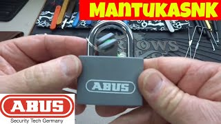 (655) Abus Padlock Machined Open (Thanks MantukaSNK!)