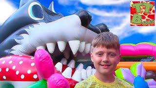 Outdoor Playground for kids Игорь и Арина в Детском Развлекательном Парке