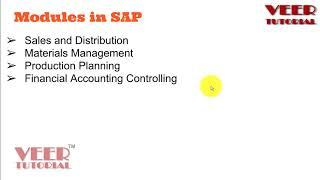 Different Modules of SAP MM, HR, SCM, FICO, SD