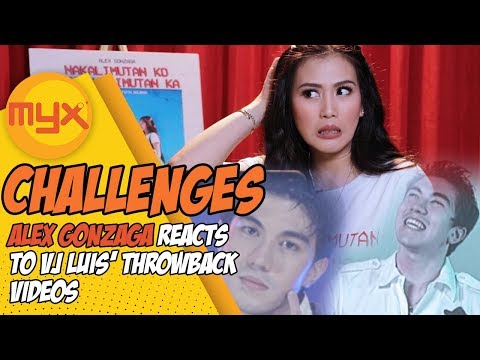 ALEX GONZAGA Reacts To VJ Luis' Throwback MYX Videos
