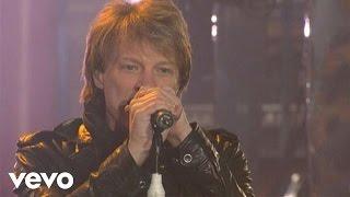 Bon Jovi - You Give Love A Bad Name (Live on Letterman)