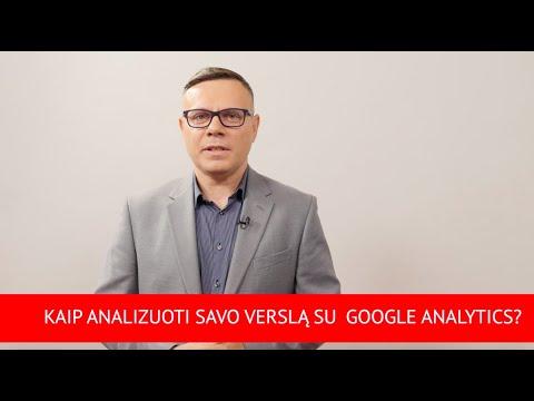 """""""Verslo patarimai su """"bzn start"""": kaip analizuoti savo verslą su Google Analytics?"""