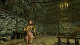 Skyrim (mods) - Helena - Spotlight On: Elvenia Armor Unp
