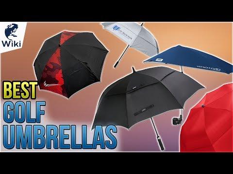 10 Best Golf Umbrellas 2018