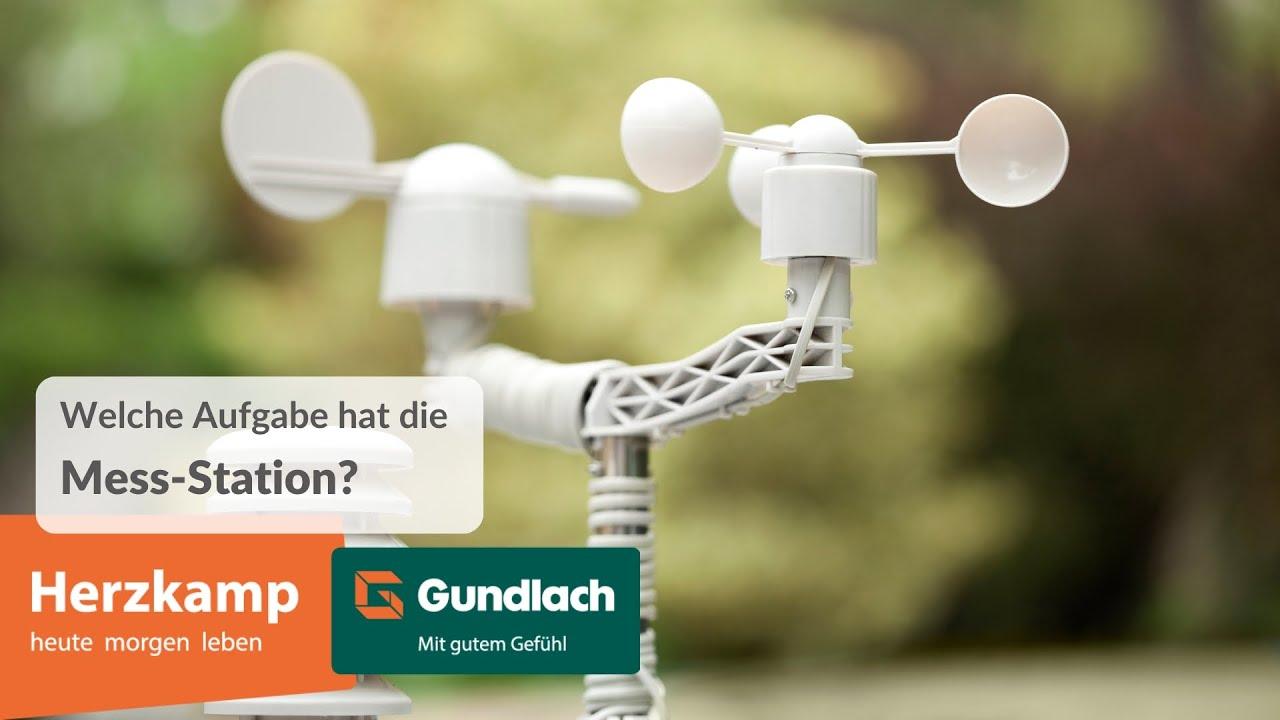 Messstation im Herzkamp - Hannover. Andreas erklärt die Bedeutung.